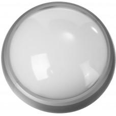 """Светильник STAYER """"PROFI"""" PROLight светодиодный, влагозащищенный IP65, пластиковый корпус, PC, влагозащищенный, круг, металлик, 4000К, 7(60Вт)"""