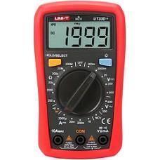 Мультиметр наладонный с ручным выбором диапазона UNI-T UT33D+