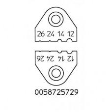 Набор ножей для термопинцета Weller AWG 12, 14, 24, 26