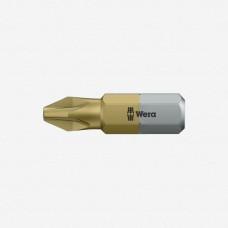Бит Pozidriv 25 мм (с покрытием нитрит титана) WERA PZ3*25TIN