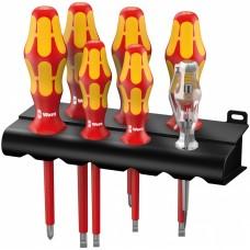 160 i/7 Rack Набор отверток Kraftform Plus Серия 100 + индикатор наличия напряжения + подставка, 7 предметов
