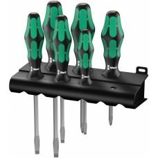 334 SK/6 Rack Набор отверток Kraftform Plus Lasertip + подставка, 6 предметов