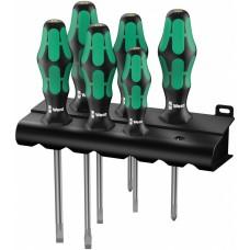 334/6 Rack Набор отверток Kraftform Plus Lasertip + подставка, 6 предметов