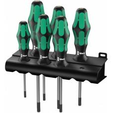 367/6 TORX® BO Kraftform Plus Набор безопасных отверток TORX® + подставка, 6 предметов