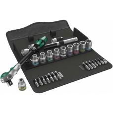 """8100 SC 6 Zyklop Speed-набор с трещоткой, привод 1/2"""", метрический , 28 предметов"""