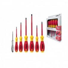 Набор отверток SoftFinish electric SL/PH (7 предм.), VDE и GS, серия 320NK7 Wiha 00834