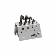 Набор штифтовых ключей TORX в подставке,VB 9 предметов Wiha 01326