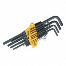 Набор шестигранных штифтовых ключей, со сферической головкой (13 предметов), дюймовые, серия SB 369 SZ13B Wiha 24851