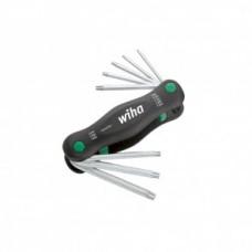 Набор ключей PocketStar, шестигранных,TORX TamperResistant, 8 предметов, Wiha 25130