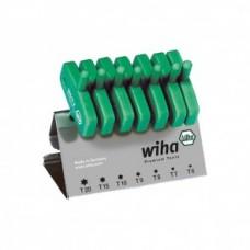Набор ключей с рукояткой-ключиком на подставке, Wiha 25624