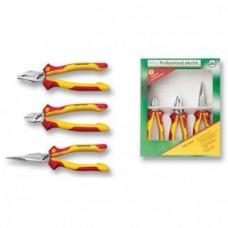 Набор шарнирно-губцевого инструмента Professional electric, 3 предмета Wiha 26852