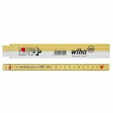 Складной метр Longlife Plus, 2 м (метрич., 10 звен.), серия 4102001 Wiha 27059