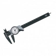 Штангенциркуль dialMax, часовой, точн. 0.1мм, серия 4112102 Wiha 27082