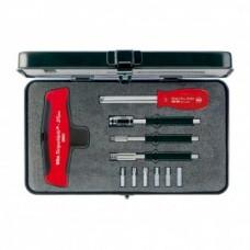 Набор динамометрических инструментов с Т-образной рукояткой TorqueVario-STplus 11пр Wiha 29234