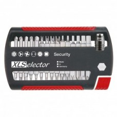 Набор бит XLSelector Standard Security смешанный 31 шт. Wiha 29416