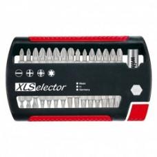 Набор бит XLSelector Standard смешанный 31 шт. Wiha 29417