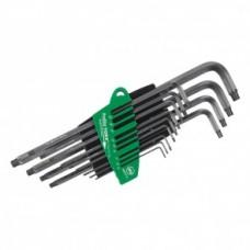 Набор штифтовых ключей TORX ProStar MagicSpring 13 предметов, Wiha 31492