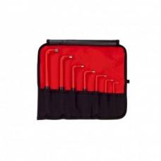 Набор изолированных штифтовых ключей 7 шт. Wiha 33182