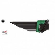 Набор штифтовых ключей TORX со сферической головкой, в держателе ErgoStar, (13 предметов), серия SB 366BE HZ13 Wiha 36486