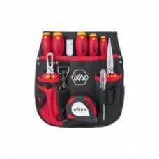 Набор для электриков в поясной сумке 10 шт. Wiha 40948