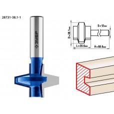 Фреза пазо-шиповая наборная, D= 38,1мм, рабочая длина-28,6мм, хв.-12 мм, ЗУБР Профессионал