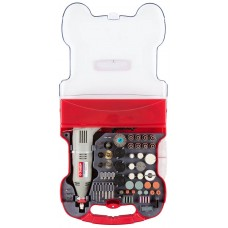 Гравер ЗУБР электрический с набором мини-насадок в кейсе, 172 предмета