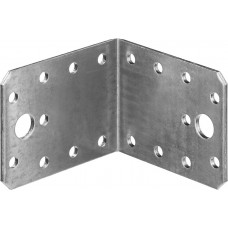 Уголок крепежный УК-2.5, 55х70х70 х 2.5мм, ЗУБР