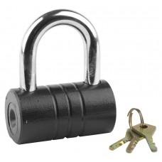 """Замок ЗУБР """"МАСТЕР"""" навесной, повышенной защищенности, дисковый механизм секрета, ключ 7 """"пинов"""", 82 x 46 мм"""