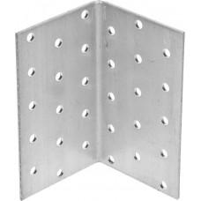 Уголок крепежный равносторонний, 100х60х60 х 2мм, 20шт, ЗУБР