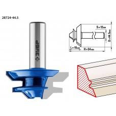 Фреза кромочная для углового сращивания, D= 44,5мм, рабочая длина-19мм, хв.-12мм, ЗУБР Профессионал