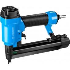 ЗУБР степлер (гвозде/скобозабиватель) пневматический для скоб тип 55 (16-30 мм) и тип 300 (10-35 мм)