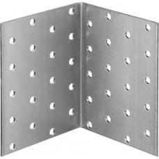 Уголок крепежный равносторонний УКР-2.0, 100х80х80 х 2мм, ЗУБР