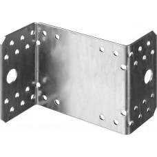 Уголок крепежный Z-образный, 90х105х55 х2мм, 25шт, ЗУБР