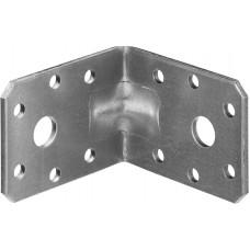 Уголок крепежный усиленный УКУ-2.5, 45х60х60 х 2.5мм, ЗУБР