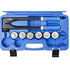 """Расширитель-калибратор ЗУБР """"ЭКСПЕРТ"""" для муфт под пайку труб из цветных металлов d 10, 12, 15, 18, 20, 22 мм, в боксе"""