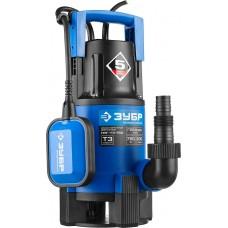 ЗУБР Профессионал НПГ-Т3-750, дренажный насос для грязной воды, 750 Вт