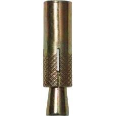 Анкер с клином, 6,0х30мм, 120шт, желтопассивированный, ЗУБР