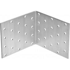 Уголок крепежный равносторонний, 80х100х100 х 2мм, 20шт, ЗУБР