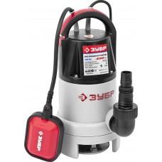 ЗУБР 400 Вт, 150 л/мин, насос погружной для загрязненной воды ЗНПГ-400