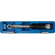 """Ключ динамометрический с кольцевым фиксатором, точность +/- 4%, 1/4"""", 6 - 30 Нм, ЗУБР 64081-030"""