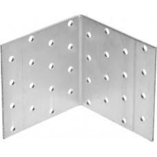 Уголок крепежный равносторонний, 80х80х80 х 2мм, 20шт, ЗУБР