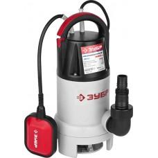 ЗУБР 900 Вт, 250 л/мин, насос погружной дренажный для грязной ЗНПГ-900