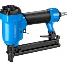 Степлер (скобозабиватель) пневматический для скоб тип 53F (10-22 мм) и тип 140 (10-14 мм), ЗУБР