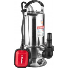 ЗУБР 1100 Вт, 280 л/мин, насос погружной дренажный для грязной ЗНПГ-1100-С