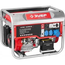 Бензиновый генератор с автозапуском, 6200 Вт, ЗУБР