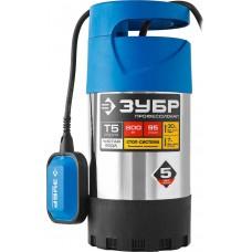 ЗУБР Профессионал НПЧ-Т5-800-С насос дренажный с большим напором, 800 Вт