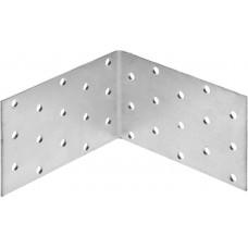 Уголок крепежный равносторонний УКР-2.0, 60х100х100 х 2мм, ЗУБР