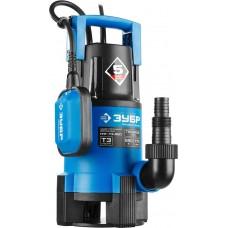 ЗУБР Профессионал НПГ-Т3-550, дренажный насос для грязной воды, 550 Вт