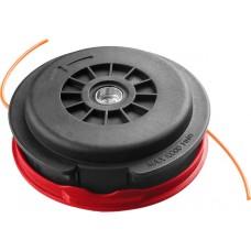 """Катушка для триммера, ЗУБР 70112-2.5, полуавтомат, макс диаметр лески 2,5мм, """"круг"""", посадка М10Х1.25Л, для ЗКРБ-ххх"""