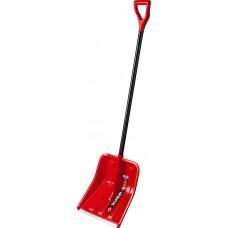 ЗУБР УРАЛ лопата снеговая, пластиковая с алюминиевой планкой, эргономичный алюминиевый черенок, V-ручка, 400 мм.